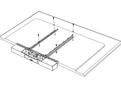 Poly Studio Display Mounting Kit